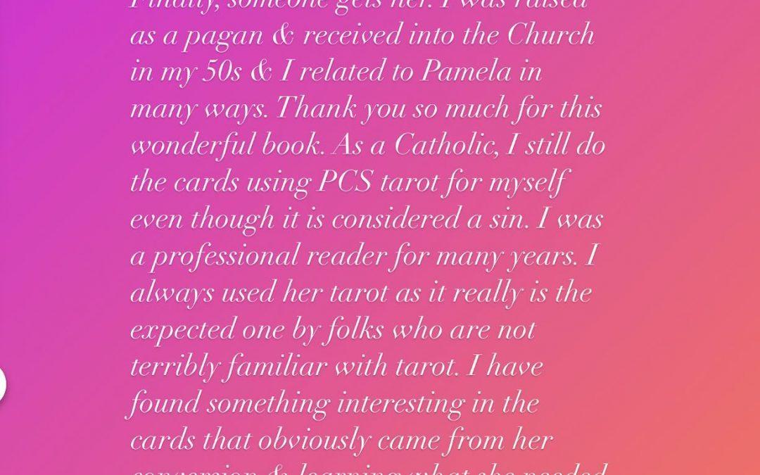 Pamela Colman Smith reviews: